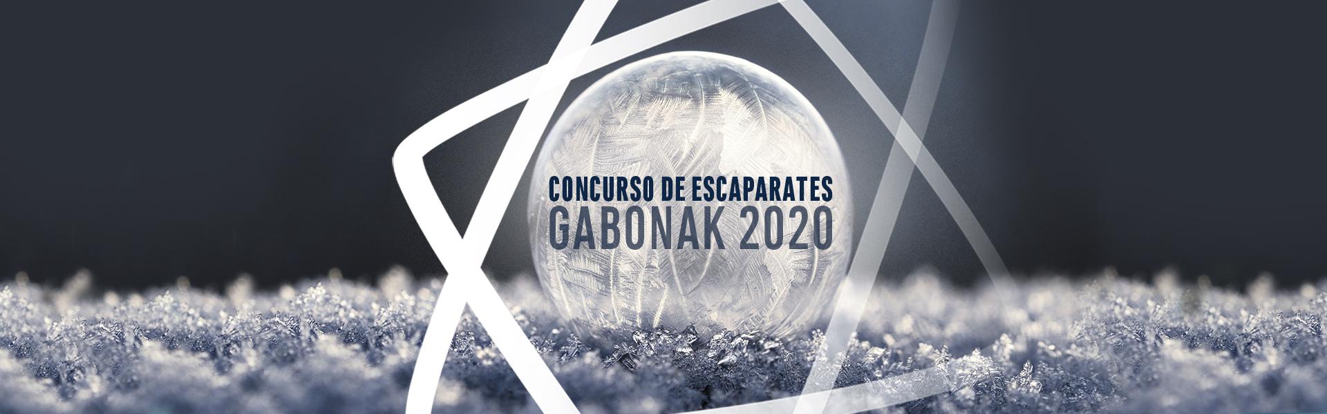 Concurso de escaparates, Gabonak 2020, San Sebastián Shops