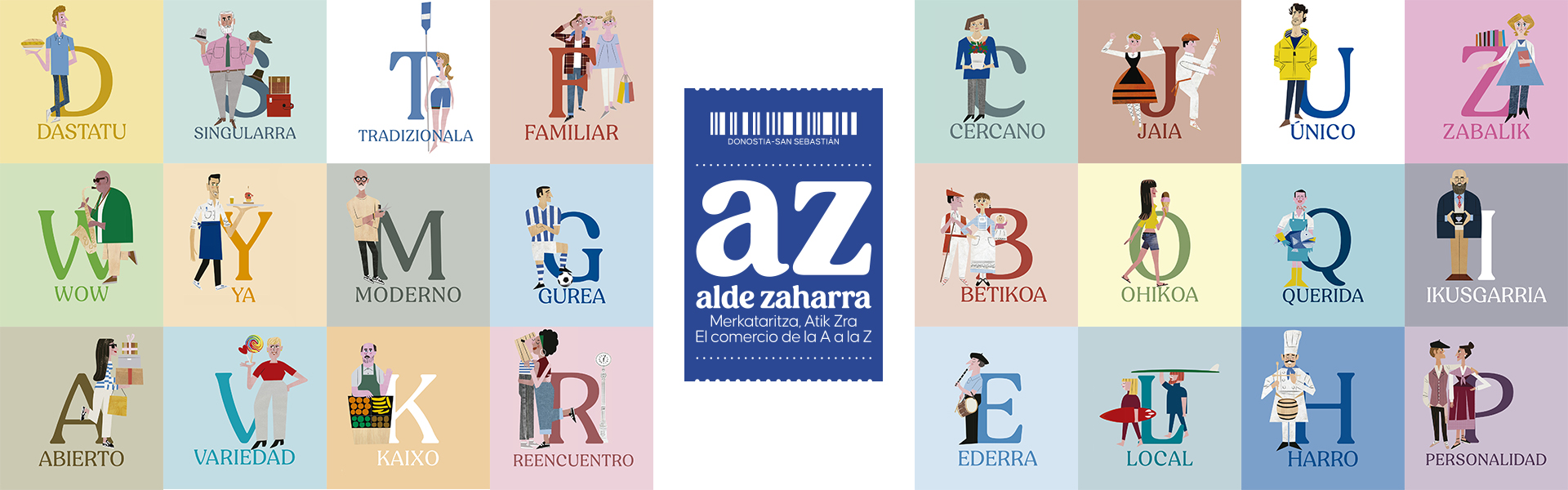 De la A a la Z, San Sebastián Shops