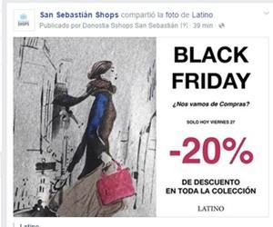 Latino con 20% de descuento
